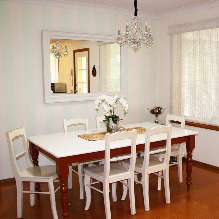 Country style dining room Middle Dural