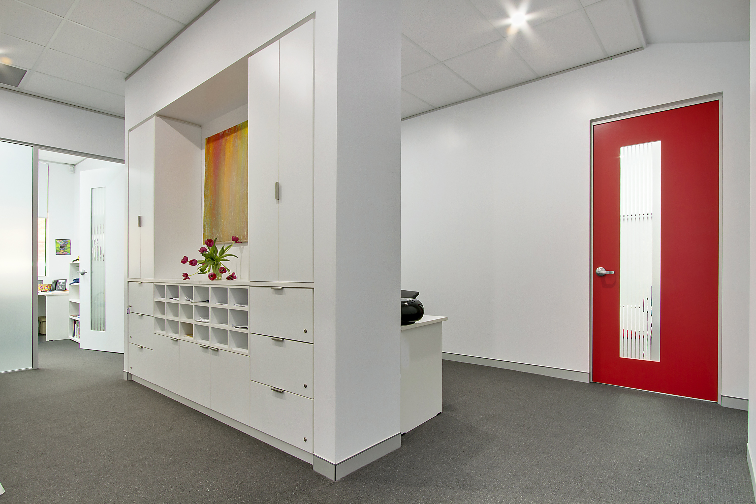Contemporary Style Church Offices