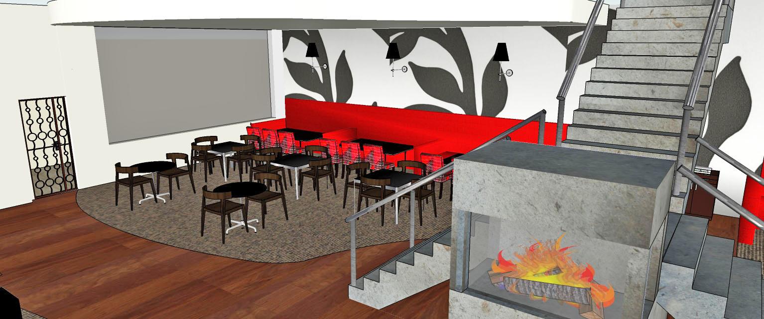Contemporary Classic Style Restaurant – Conceptual