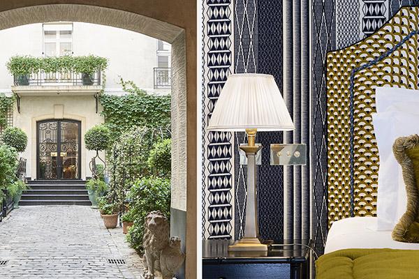 """Alt=""""Hotel Relais Christine Paris"""""""