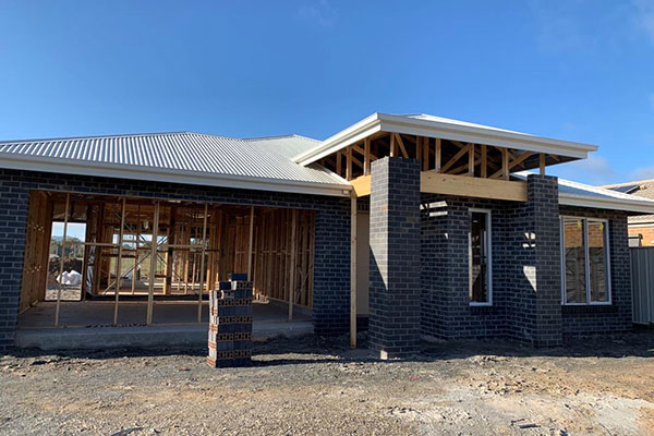 Residential investment property build in Wodonga, Victoria