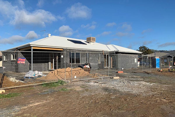 Residential investment build in progress