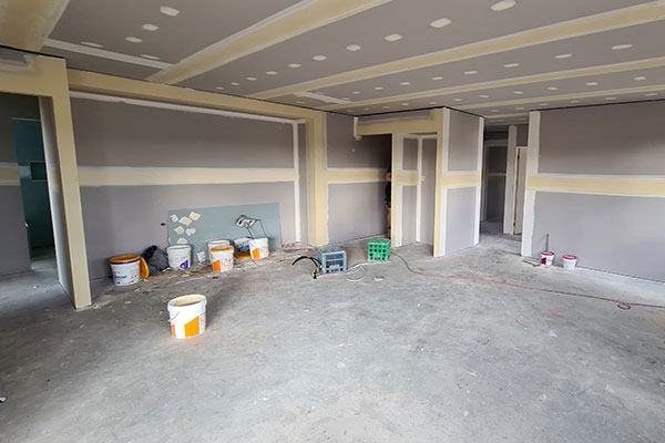 Kitchen design underway at Wodonga investment property