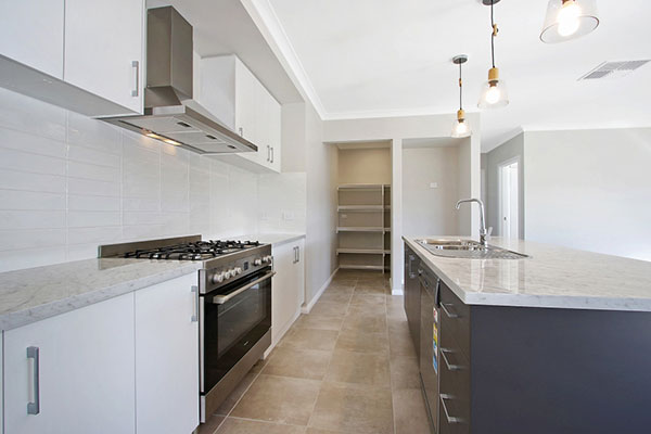 Finished kitchen in Wodonga investment property