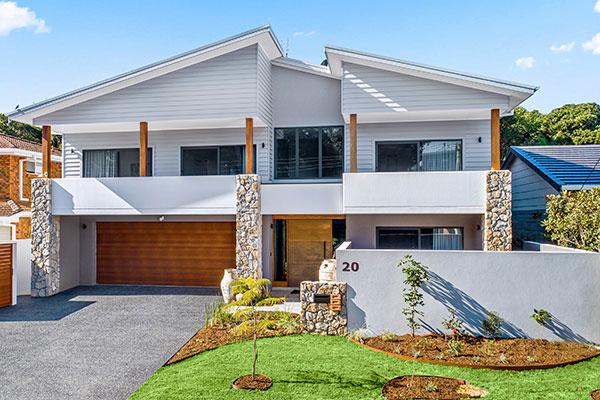 Contemporary coastal house Sawtell NSW
